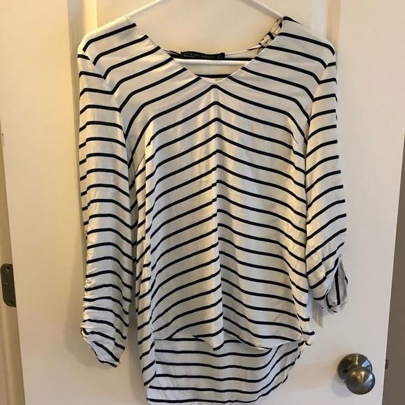 Zara Tops - Zara Nautical Stripe Top